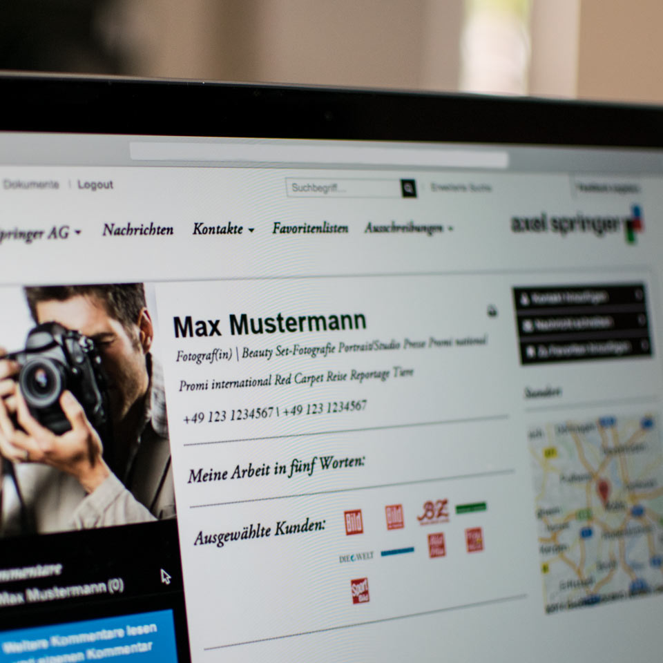 Axel Springer Fotografen-Community