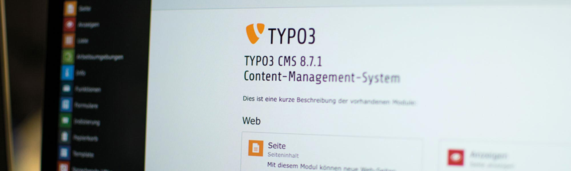 TYPO3 Backend